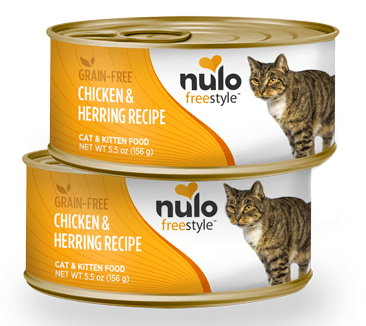 Nulo FreeStyle Grain Free Chicken and Herring Recipe Canned Kitten and Cat Food
