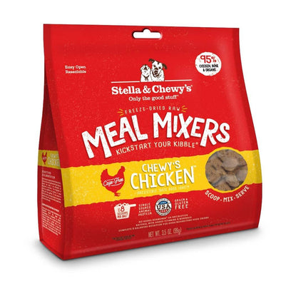 Stella & Chewy's Freeze Dried Raw Chewy's Chicken Meal Mixers Grain Free Dog Food Topper