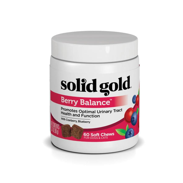 Solid Gold Berry Balance Nutritional Supplement Powder for Dogs & Cats