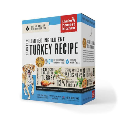 The Honest Kitchen Limited Ingredient Turkey Recipe Dehydrated Dog Food