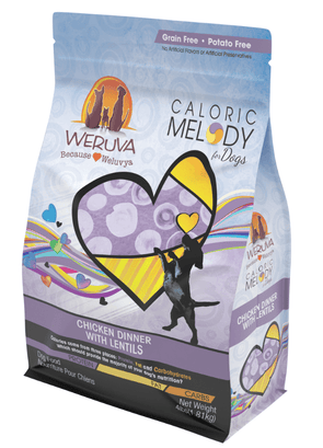 Weruva Caloric Melody Grain Free Chicken Dinner with Lentils Dry Dog Food