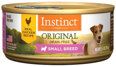 Instinct Small Breed Grain-Free Chicken Formula Canned Dog Food