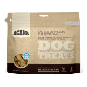 ACANA Singles Grain Free Limited Ingredient Diet Duck & Pear Formula Dog Treats