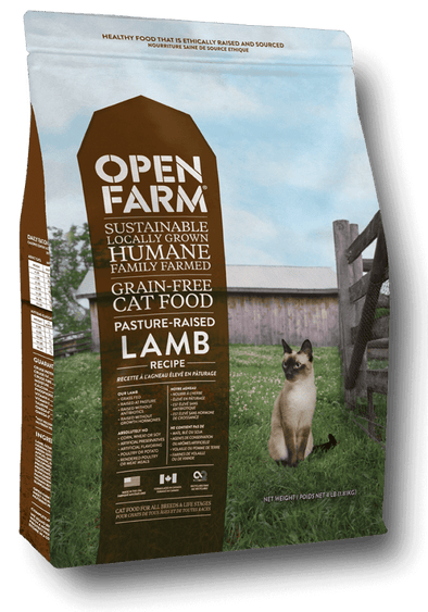 Open Farm Grain Free Pasture Raised Lamb Recipe Dry Cat Food