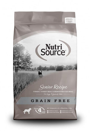 NutriSource Grain Free Senior Recipe Dry Dog Food