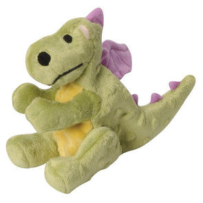 Go Dog Lime Dragon with Chew Guard Technology Dog Chew Toy