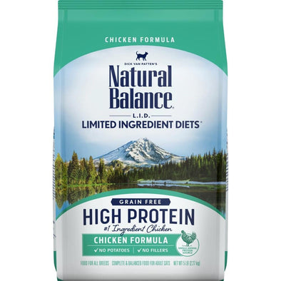 Natural Balance L.I.D. Limited Ingredient Diets High Protein Chicken Recipe Dry Cat Food