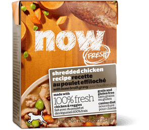 Petcurean NOW! Fresh Grain Free Grain Free Shredded Chicken Recipe Wet Dog Food