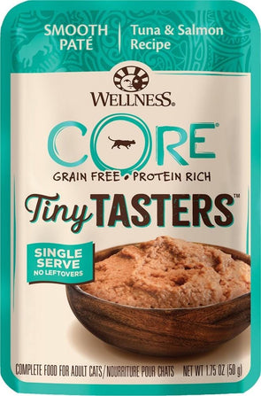 Wellness CORE Tiny Tasters Tuna & Salmon Pate Wet Cat Food