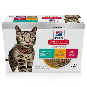 Hill's Science Diet Perfect Weight Variety Pack Adult Canned Cat Food