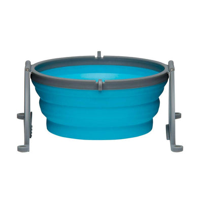 Loving Pets Blue Bella Travel Bowl