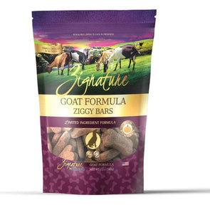 Zignature Zssential Ziggy Bars Goat Formula Dog Treats