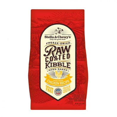 Stella & Chewy's Raw Coated Kibble Cage Free Chicken Recipe Dry Dog Food