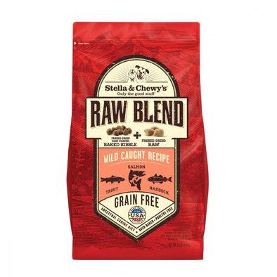 Stella & Chewy's Raw Blend Kibble Wild Caught Recipe Dry Dog Food
