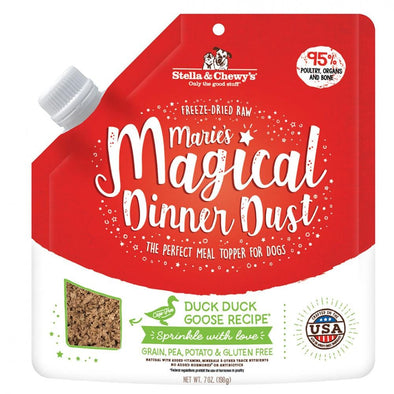 Stella & Chewy's Marie's Magical Dinner Dust Duck, Duck, Goose Dog Food Topper