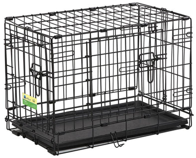 Midwest Contour Double Door Folding Dog Crate