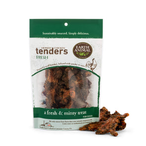 Earth Animal Fresh Herbed Chicken Tenders Dog Treats