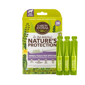 Earth Animal Nature's Protection™ Flea & Tick Herbal Spot-On for Large Dogs