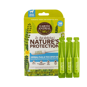 Earth Animal Nature's Protection™ Flea & Tick Herbal Spot-On for Medium Dogs
