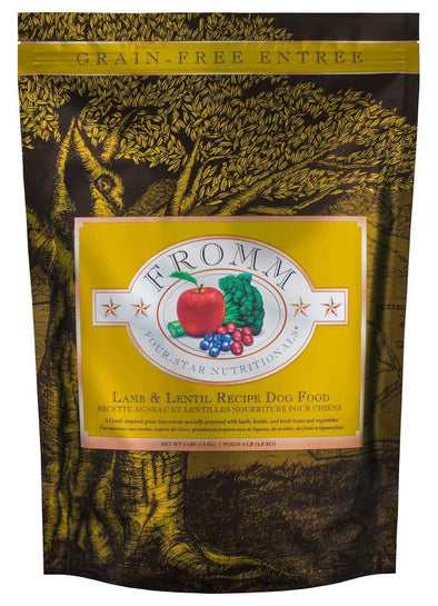 Fromm Four Star Grain Free Lamb and Lentil Dry Dog Food