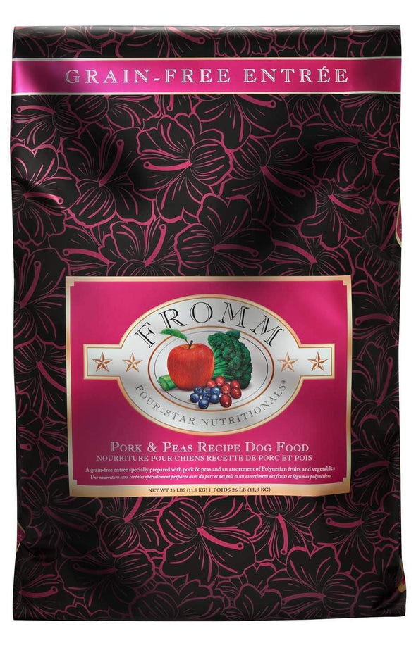 Fromm Four Star Grain Free Pork and Peas Recipe Dry Dog Food