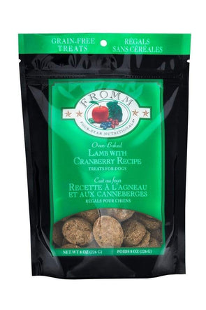 Fromm Four Star Nutritionals Grain Free Lamb with Cranberry Dog Treats