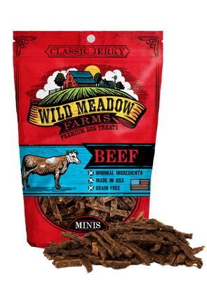 Wild Meadow Farms Classic Beef Minis Dog Treats