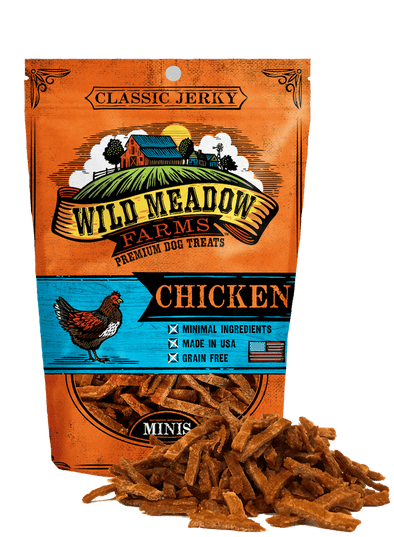 Wild Meadow Farms Classic Chicken Minis Dog Treats