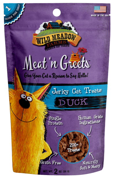 Wild Meadow Farms Duck Meat'N Greets Treats for Cats