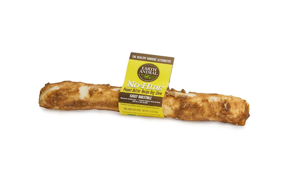 Earth Animal No-Hide Peanut Butter Chew Large Dog Treats
