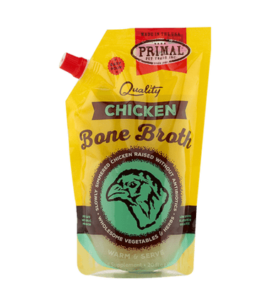Primal Chicken Bone Broth for Pets