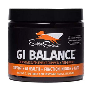 Super Snouts GI Balance Powder Supplement for Dogs and Cats