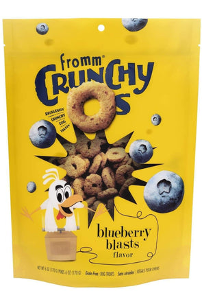Fromm Crunchy O's Blueberry Blasts Flavor Treats