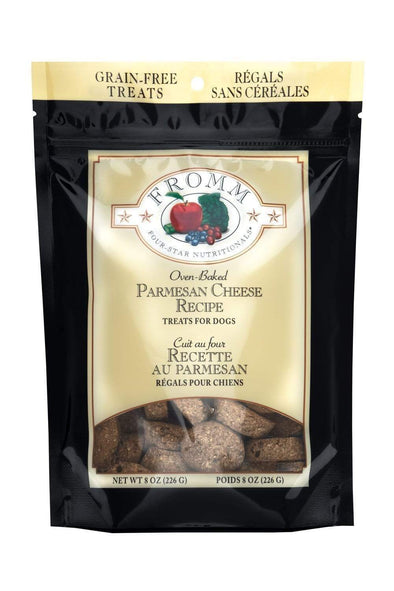 Fromm Four Star Nutritionals Grain Free Parmesan Cheese Dog Treats