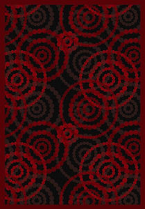 """Dottie "" Theme Theater Area Rugs and Carpet"
