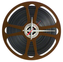 "Load image into Gallery viewer, 15"" Movie Reel Clock"