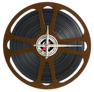 "15"" Movie Reel Clock"