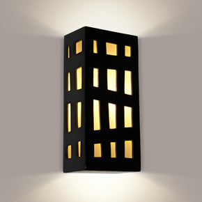 wall sconce lantern box look