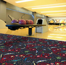 "Load image into Gallery viewer, ""Astro Jam"" Theme Theater Carpet"
