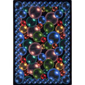 """Bubbles"" Theme Theater Area Rugs and Carpet"