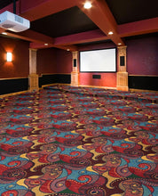 "Load image into Gallery viewer, ""Contrarian"" Theme Theater Carpet"