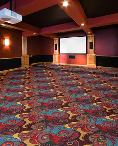 """Contrarian"" Theme Theater Carpet"