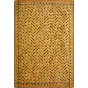 """Diamond Plate"" Theme Area Rugs and Carpet"