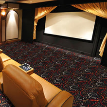 "Load image into Gallery viewer, ""Double Down"" Theme Theater Carpet"