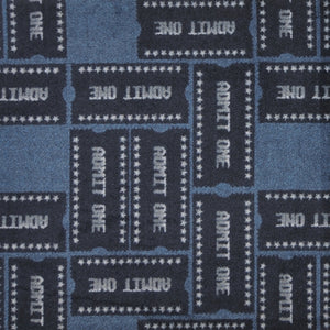 """Admit One"" Theme Theater Area Rugs and Carpet"