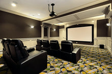 "Load image into Gallery viewer, ""Searchlight"" Theme Theater Area Rug and Carpet"