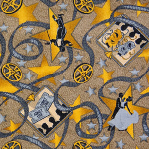 """Silver Screen"" Theme Theater Area Rug and Carpet"