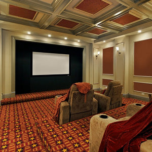 """Marquee Star"" Theme Theater Area Rugs and Carpet"