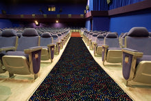 "Load image into Gallery viewer, ""Dots Aglow"" Theme Theater Carpet"