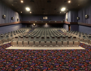 """French Quarter"" Theme Theater Carpet"